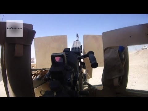 Soldier's POV - Marines Combat Logistics Patrol in Afghanistan