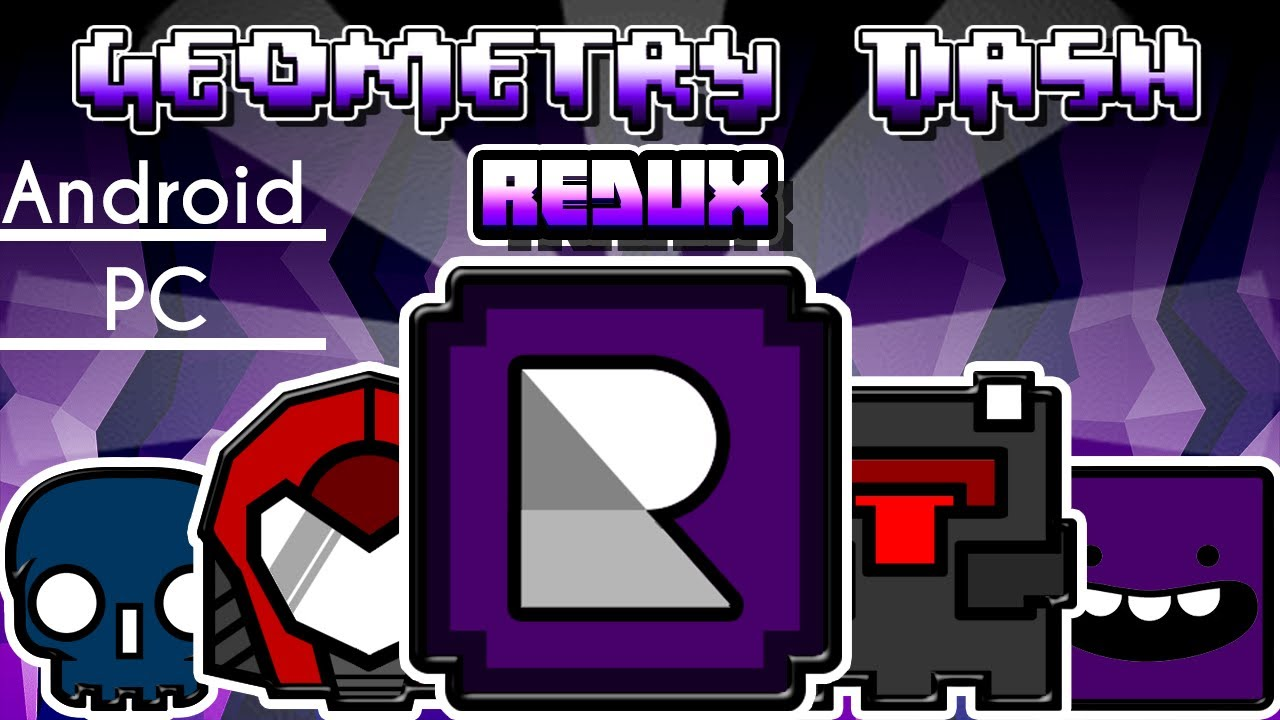 EPIC!! TEXTURE PACK - REDUX | GEOMETRY DASH 2.111