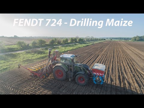 FENDT 724- Drilling Maize 2018