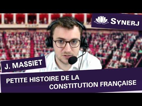 """""""Petite histoire de la Constitution française"""" par Jean MASSIET"""