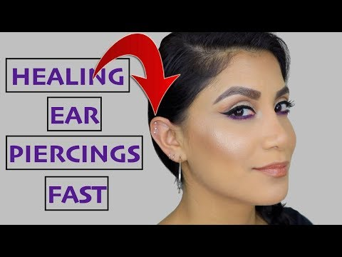 TIPS ON HEALING EAR PIERCINGS FAST | MagdalineJanet