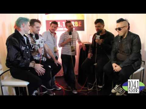 Special K and Kevin Quinn interview Walk The Moon at The AMA's