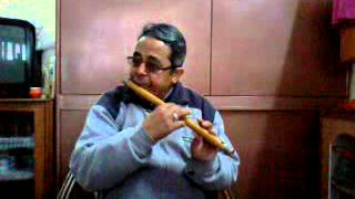 Tanhai....(dil chahta hai) --Flute by PK Joshi Pahadi.