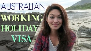HOW TO GET A WORKING HOLIDAY VISA // Australia(Info on getting the Working Holiday or Work and Holiday Visa in Australia. Where else you can find me: BLOG - http://captainslogtravels.com INSTAGRAM ..., 2016-02-24T13:30:00.000Z)