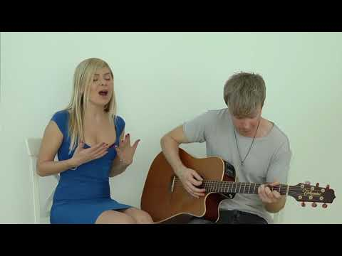 Ksenia Valenti and Jeremy Bieber - How Will I Know (Whitney Houston Cover)