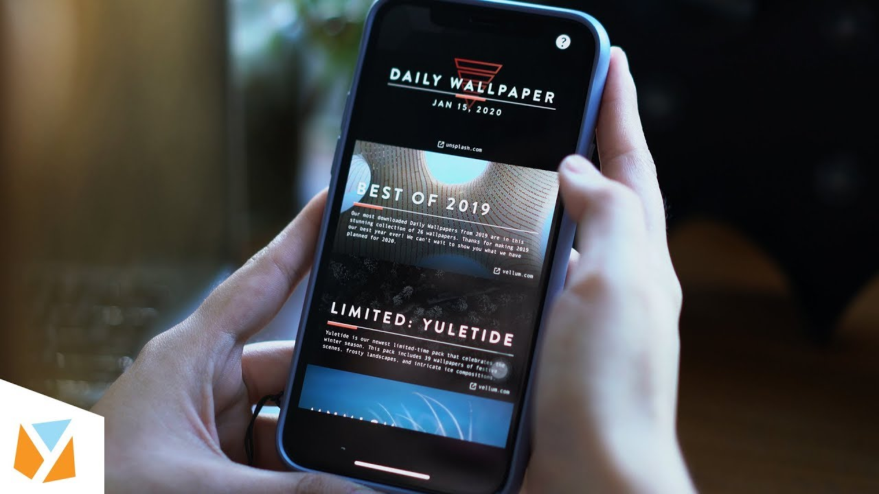 Best Wallpaper Apps for Android & iOS! - YouTube