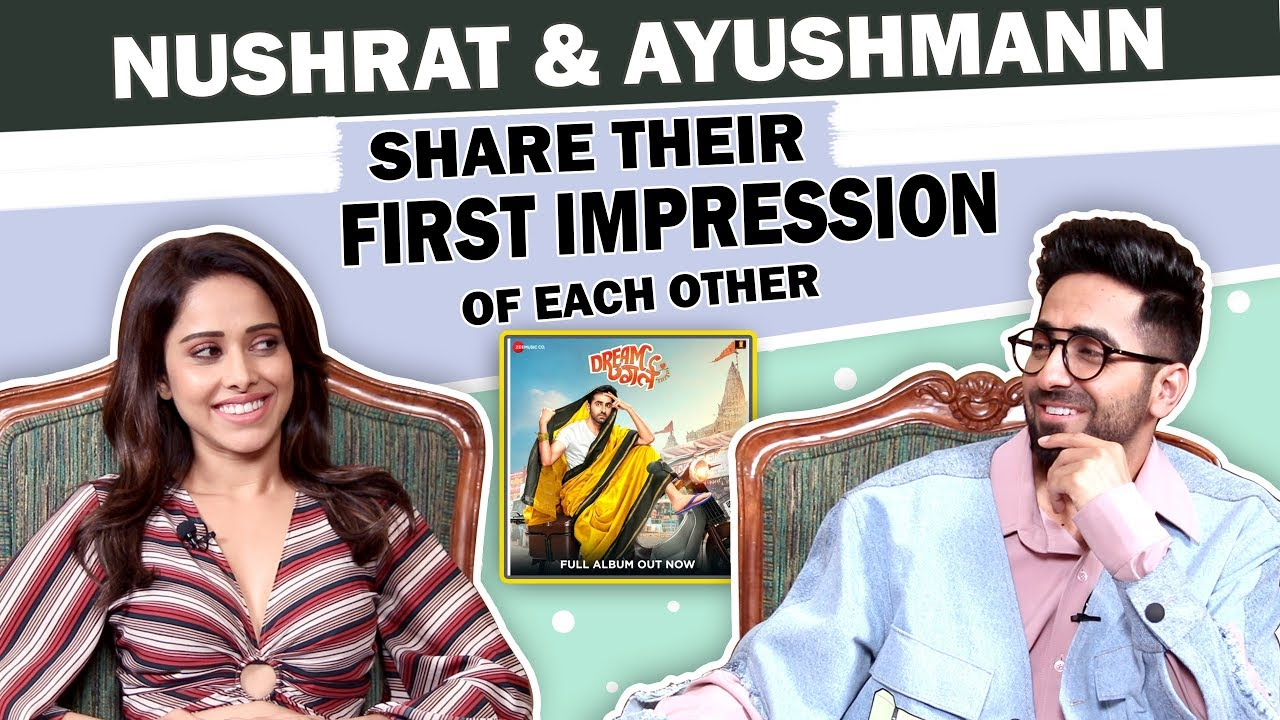 Ayushmann Khurrana and Nushrat Bharucha's Co-Star Secrets | Dream Girl