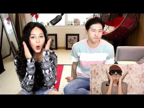 ChoNunMigookSaram + Woojong React to Old Collab Videos #KoreanDaddyWho?