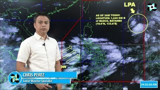 Public Weather Forecast Issued at 4:00 AM September 5, 2018