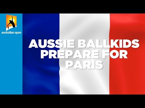 Woolworths Ballkids learn French for Roland Garros | Australian Open