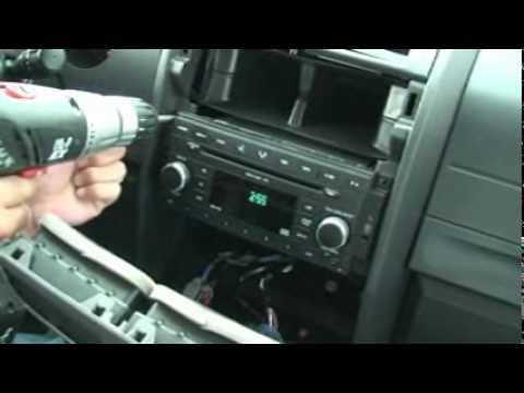 2008 Dodge Durango Wiring Diagram Como Desmontar Consola Central De La Radio Del Dodge