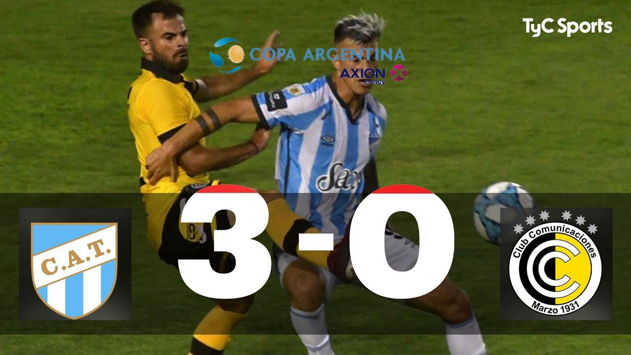 Atlético Tucumán 3-0 Comunicaciones | Copa Argentina