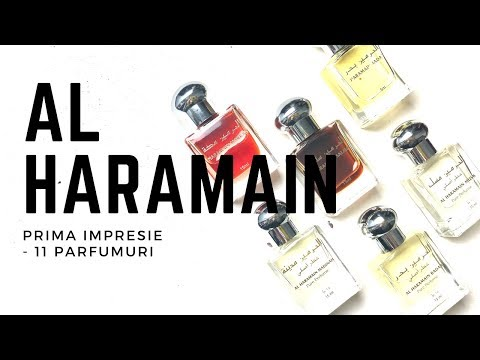 #MartealaMinut | Al Haramain- Primul Nas Pe 11 Parfumuri