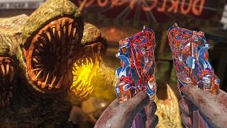 """""""SHADOWS OF EVIL"""" ROUND 75 CHALLENGE (Call of Duty Black Ops 3 Zombies)"""