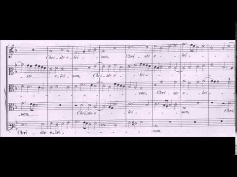 Palestrina - Missa Nigra sum - Kyrie 2