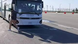 인천공항 굴절셔들버스 시험운행