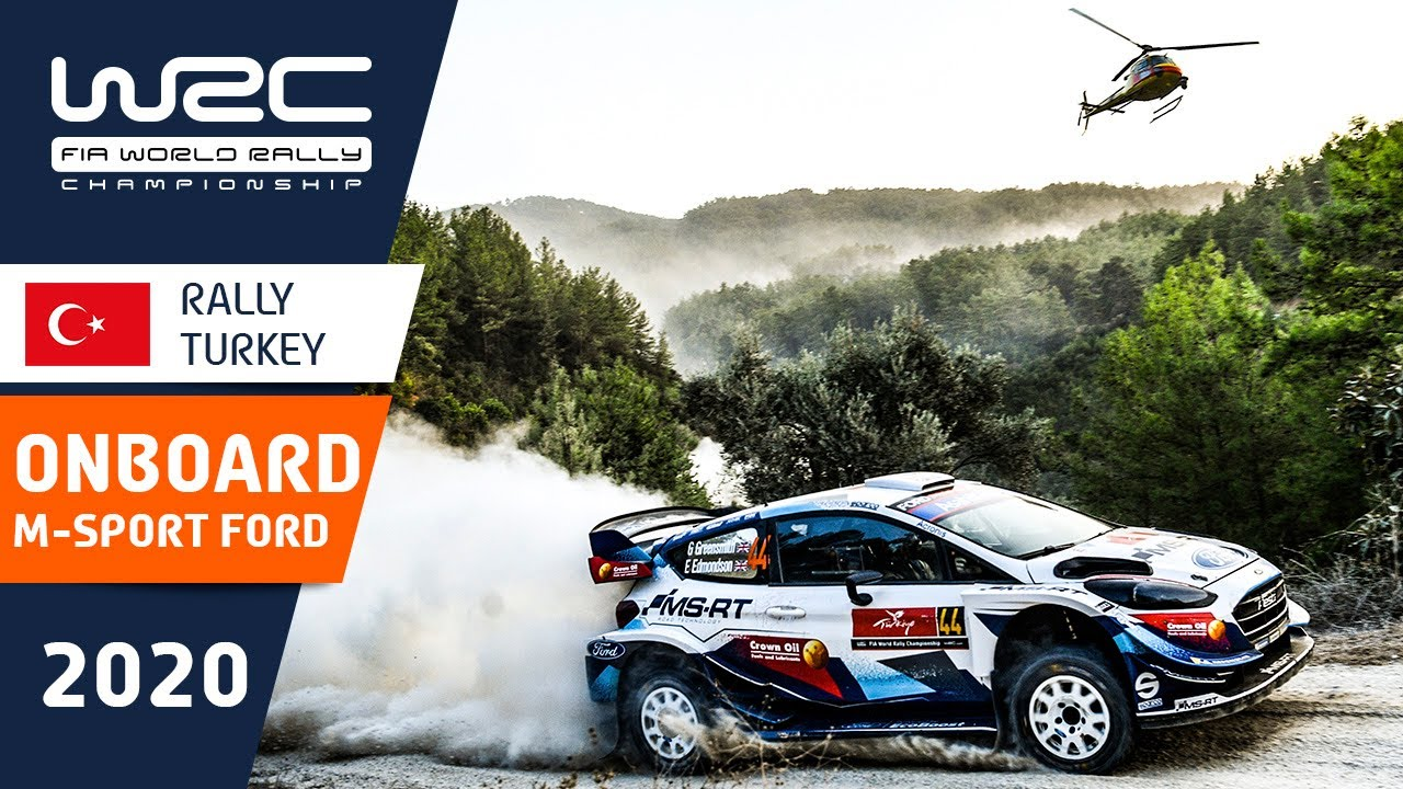 WRC - Rally Turkey 2020: Onboard compilation M-SPORT FORD