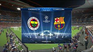 PES 2014 - Fenerbahçe Vs. Barcelona (UEFA ŞAMPİYONLAR LİGİ KUPASI)(4.SEZON)