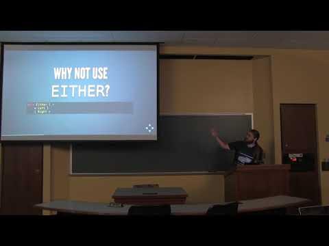 Matt Parsons - Exceptional Haskell - λC 2018