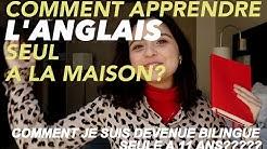 BILINGUE SEULE A 11 ANS?! Apprendre l'anglais comme un natif seul à la maison 🇺🇸🇬🇧