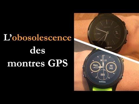 Obsolescence des montres GPS