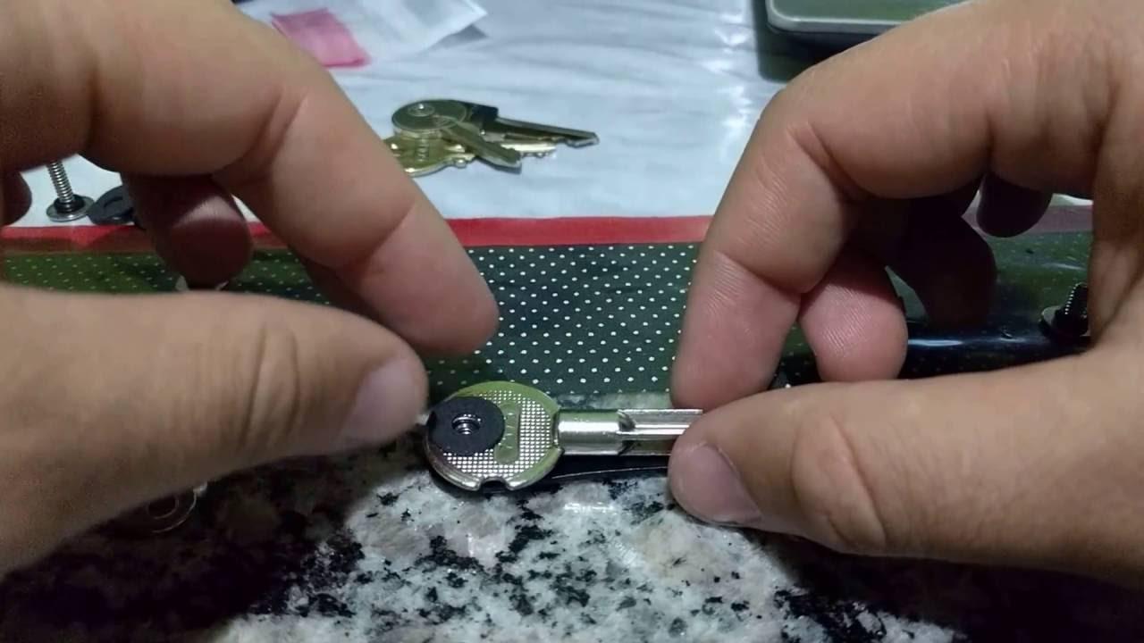 77afbcbac Montando o Chaveiro KeySmart Original (com chave tetra) - YouTube