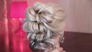Вечерняя причёска из жгутов(, 2016-11-10T02:53:55.000Z)