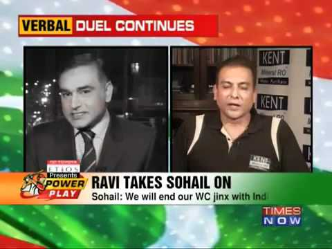 War of Words : Ravi Shastri and Aamir Sohail