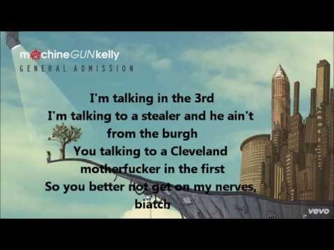 Machine Gun Kelly - World Series Lyrics Video