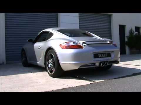 Silencieux Sport SCART Ultima pour Porsche Boxster 987 et Cayman 987 -RS60038-  www.mecatechnic.com