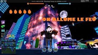 🔥ON ALLUME THE FEU🔥: ROBLOX JAILBREAK