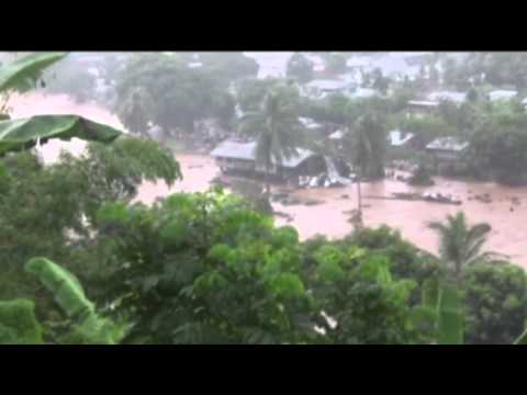 Raw: Solomon Islands Floods Displace Thousands