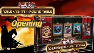 Yugioh Noble Knights of the Round Table Box Set Opening