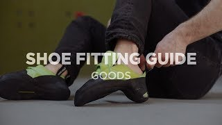 The Goods | How To Fit Climbing Shoes