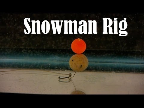 Snowman Rig How To For Carp Fishing Tutorial Video Step By Step Part 1 Of 2