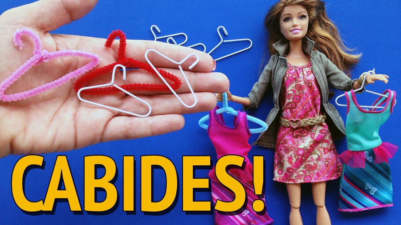 Como Fazer Cabides Para Barbie E Outras Bonecas Youtube