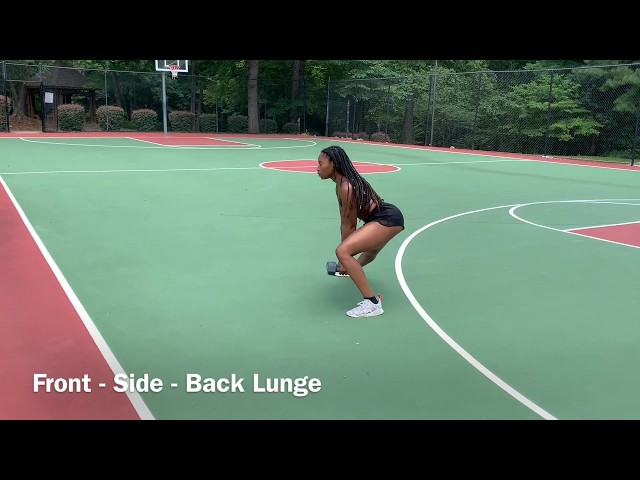 Front - Side - Back Lunge