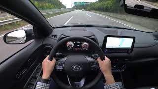 2021 Hyundai Kona n line 1.6T-GDi AWD POV test drive