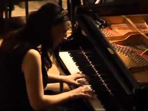 Shorena Tsintsabadze plays Mozart  Piano concerto No  27 in B flat, K  595   III d mov   Allegro