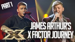 James Arthur's INCREDIBLE X Factor Journey: Part 1 | The X Factor UK