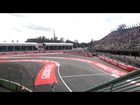 Mexico GP 2015 - FP1, Foro Sol Norte (Stadium)