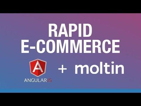 [Web Design Tutorial] Rapid E-Commerce with Angular and Moltin - Easy, Fast E-Commerce Development