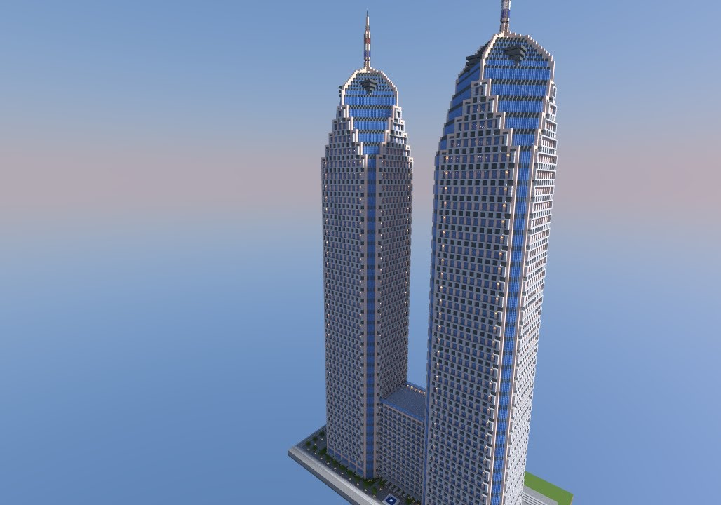 Minecraft skyscraper timelapse 2 youtube - Minecraft hochhaus ...