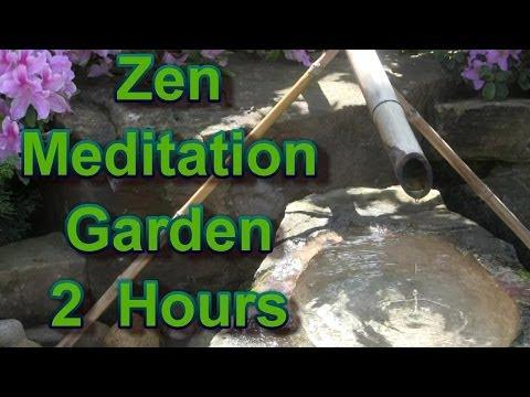 2 Hour Zen Garden Meditation Music: Japanese Zen Garden