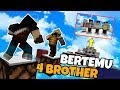 ADA 4 BROTHER DI MAP INI ??!! BERTEMU 4 BROTHER DI MAP PARKOUR !! | Minecraft