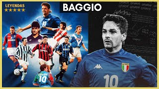 ROBERTO BAGGIO El Messi de ITALIA La LEYENDA del Divino Codino