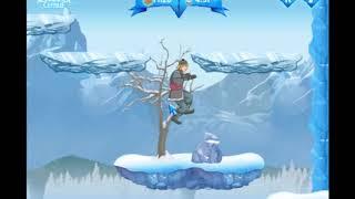 Холодное сердце - игра онлайн , прохождение 3 уровня