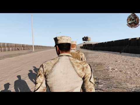[GER] Arma 3 Operation Wüstenblume - Mission Lonewolf Teil 2 Bravo-Company