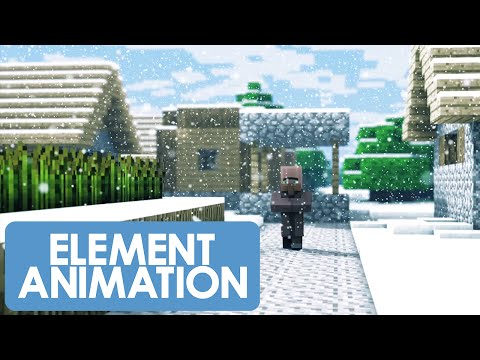 Christmas With The Villagers 2 (Minecraft Animation)