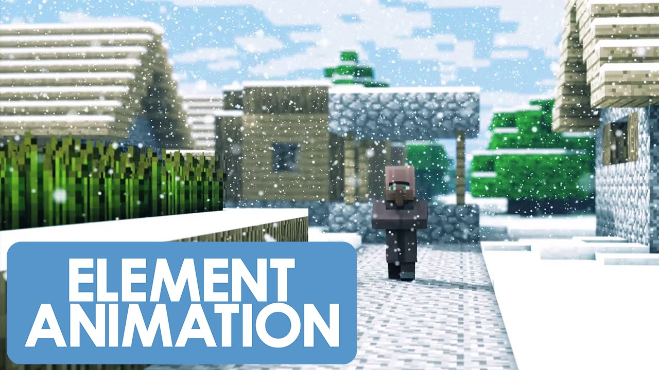 Christmas With The Villagers 2 (Minecraft Animation) - YouTube